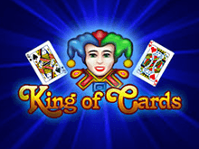King Of Cards со ставкой на биткоин