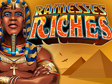 Биткоин ставки в Ramesses Riches от Microgaming