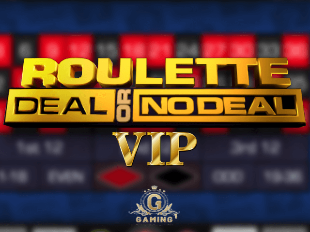 Roulette Deal Or No Deal VIP - игровой автомат