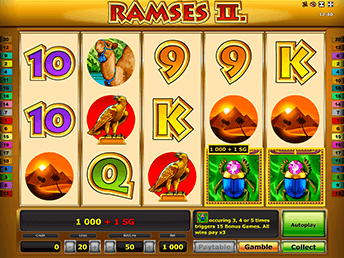 ramses 2 игровой автомат