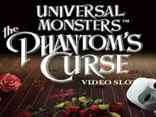Игра на биткоины Universal Monsters The Phantom's Curse Video Slot