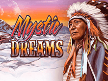 Ставки на биткоин в аппарате Mystic Dreams