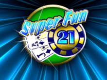 Играть онлайн в виртуальный аппарат с выплатами на Киви: Super Fun 21