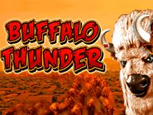 Играть с биткоин ставками онлайн в Buffalo Thunder