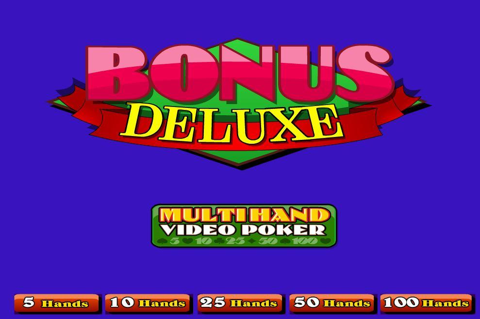Bonus Deluxe 100 Hands - игровой автомат