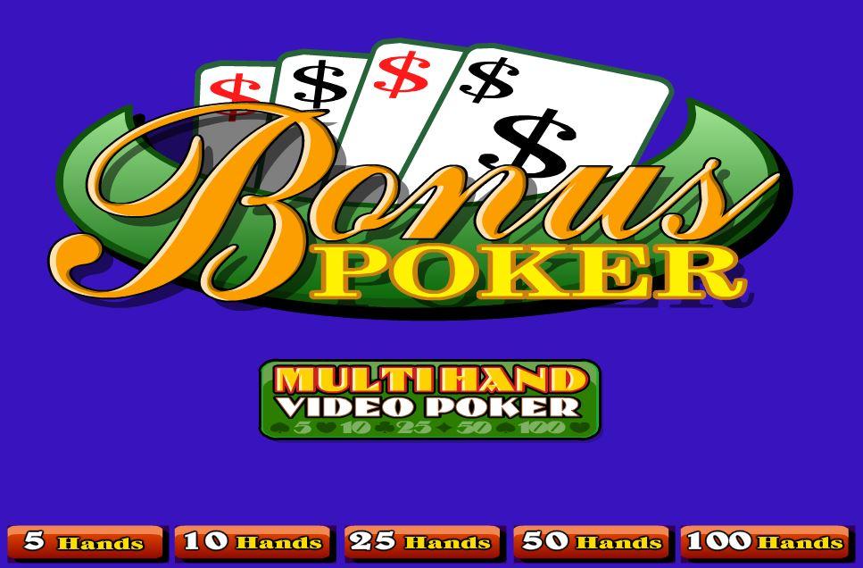 Bonus Poker 100 Hands - игровой автомат