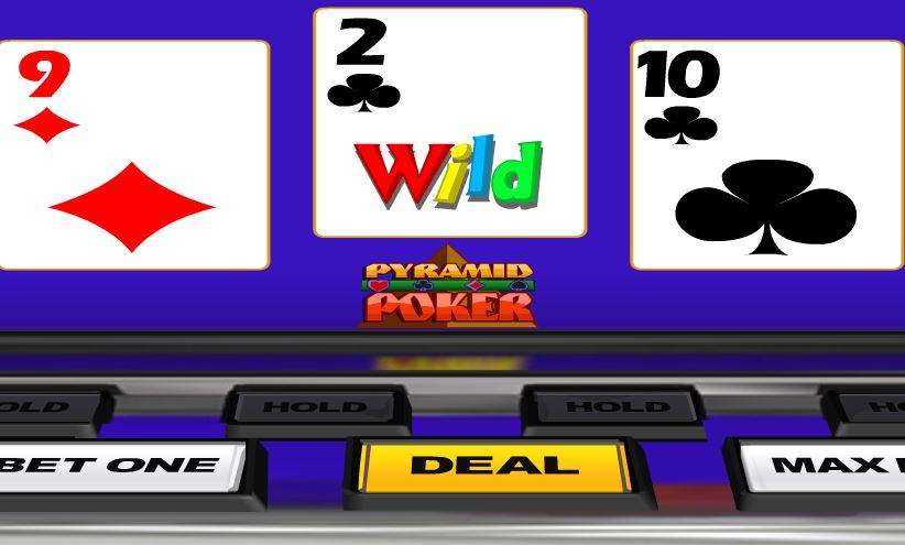 Deuces Wild Pyramid Poker - игровой автомат