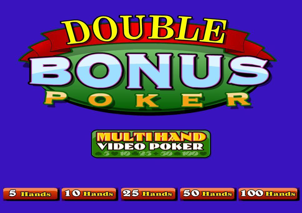 Double Bonus Poker - игровой автомат