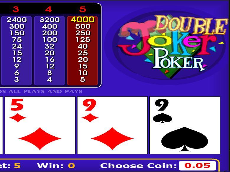 Double Joker Poker - игровой автомат