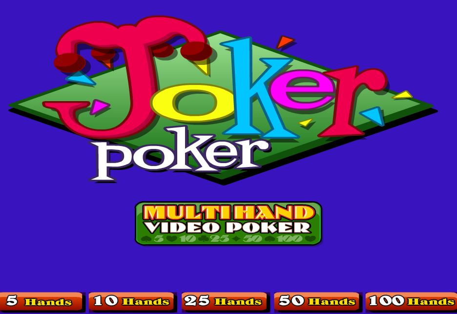 Joker Poker 100 Hands - игровой автомат