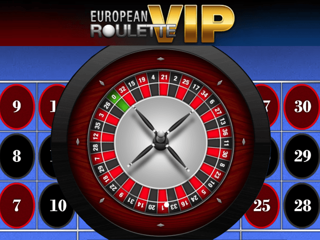 European Roulette VIP - игровой автомат
