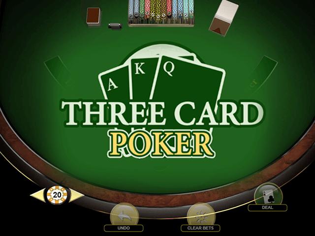Three Card Poker by Habanero - игровой автомат