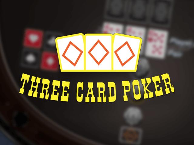 Three Card Poker - игровой автомат