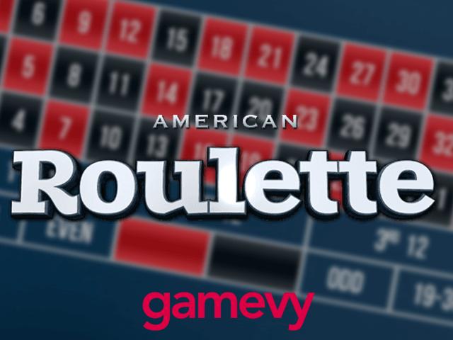 American 20p Roulette - игровой автомат